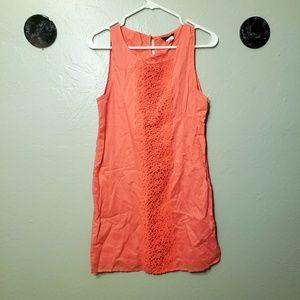 J Crew light pink mini dress